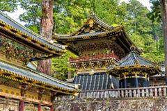 Tosho-gu, um santuário xintoísmo em Nikko fotografia de stock