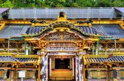Tosho-gu, um santuário xintoísmo em Nikko foto de stock