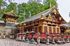 Tosho-gu, um santuário xintoísmo em Nikko fotos de stock