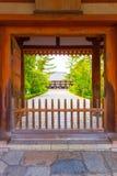 Toshodai-Ji Temple Entrance Doorway Path Nara  Stock Photos