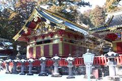 Toshogu寺庙在日光,日本 免版税库存照片