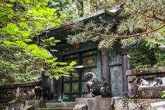Toshogu寺庙,日光,栃木县,日本 免版税库存图片