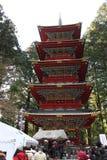 Toshogu świątynia w Nikko, Japonia Obrazy Royalty Free
