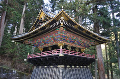 Toshogu Nikko Japan. A beautifully preserved structure in Toshogu, Nikko, Japan. Toshogu is part of a UNSECO Hertiage site royalty free stock images