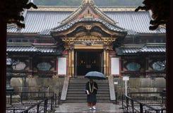 Toshogu relikskrin, Nikko, Japan Arkivfoto