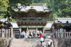 Toshogu shrine, Nikko Stock Image