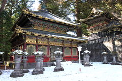 Toshogu Shrine in Nikko Stock Photos