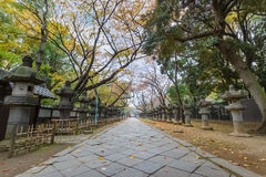 Toshogu Shrine at Ueno Park in Tokyo Stock Image