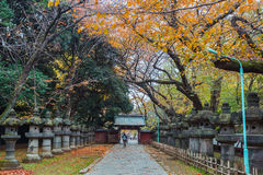 Toshogu Shrine at Ueno Park in Tokyo Stock Images
