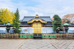 Toshogu Shrine at Ueno Park in Tokyo Royalty Free Stock Image