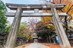 Toshogu Shrine at Ueno Park in Tokyo Stock Photography