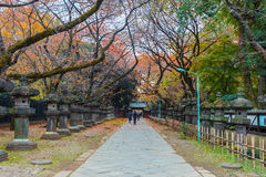 Toshogu Shrine at Ueno Park in Tokyo Stock Photo