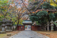 Toshogu Shrine at Ueno Park in Tokyo Stock Photos