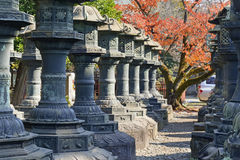 Toshogu Shrine in Ueno Park, Tokyo Royalty Free Stock Photos