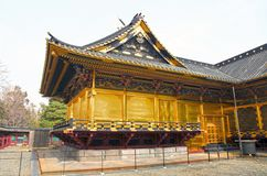 The Ueno Toshugu Shrine in Ueno Park, Tokyo, Japan royalty free stock photography