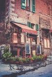 Toskańska restauracja Zdjęcie Royalty Free