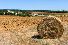 Toskana-Ackerland in Italien Stockbild