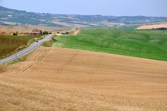 Toskana-Ansicht Lizenzfreie Stockbilder