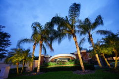 Toskana in der Tampa-Palmengemeinschaft lizenzfreies stockfoto
