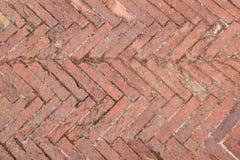 Toskana, die Muster pflastert Stockfotografie