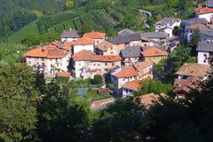 Toskana-Dorf Lizenzfreie Stockbilder