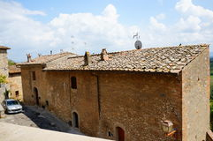 Toskana-Haus stockbild