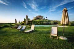 Toskana - Italien stockfotografie