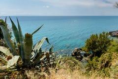 Toskana-Küstenlinie Lizenzfreies Stockfoto