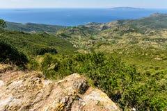 Toskana-Küstenlinie Stockfotos