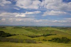Toskana-Landschaft Stockfotografie