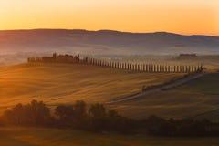 Toskana, Landschaft in Mittel-Italien Stockfoto