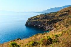 Toskana-Landschaft, San Gimignano, Italien Lizenzfreies Stockfoto