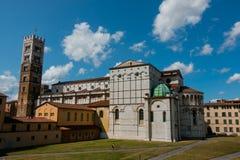 Toskana, Lucques Photo libre de droits