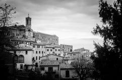 Toskana - Montepulciano Lizenzfreies Stockfoto