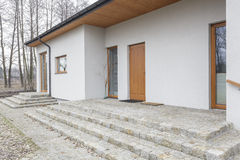 Toskana - neues Haus stockfoto