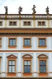 Toskana-Palast prag Stockbild