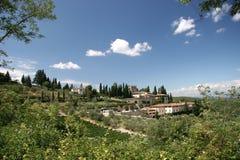 Toskana-Sommer Stockbild