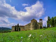 Toskania krajobrazu Zdjęcia Stock