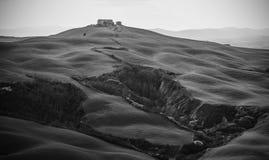 Toskania krajobrazu Zdjęcie Royalty Free