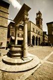Toskanische historische Architektur Stockfotografie