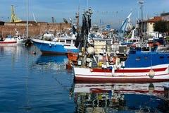 Toskanische Meerblicke, Paradies ist als Nächstes  Lizenzfreies Stockfoto