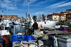 Toskanische Meerblicke, Paradies ist folgend Lizenzfreie Stockbilder