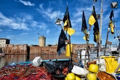 Toskanische Meerblicke, Paradies ist folgend Lizenzfreie Stockfotografie