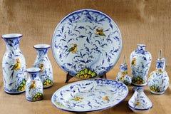 Toskanisches Potteries Stockfotos