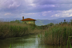 Toskanka krajobraz Obrazy Stock