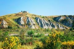 Toskanka krajobraz, Włochy, Europa zdjęcie stock
