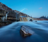 Tosno waterfall Royalty Free Stock Images