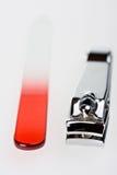 Tosquiadeira de prego foto de stock