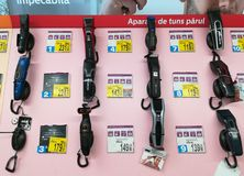 Tosquiadeiras de cabelo Fotografia de Stock