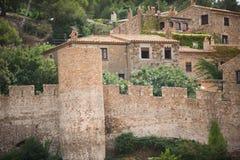 Tossa De Mącący, Costa Brava, Hiszpania Obraz Stock